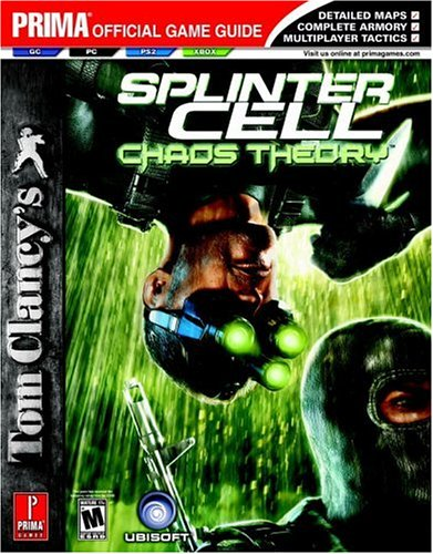 New splinter cell: chaos theory prima official game guide gc/pc.