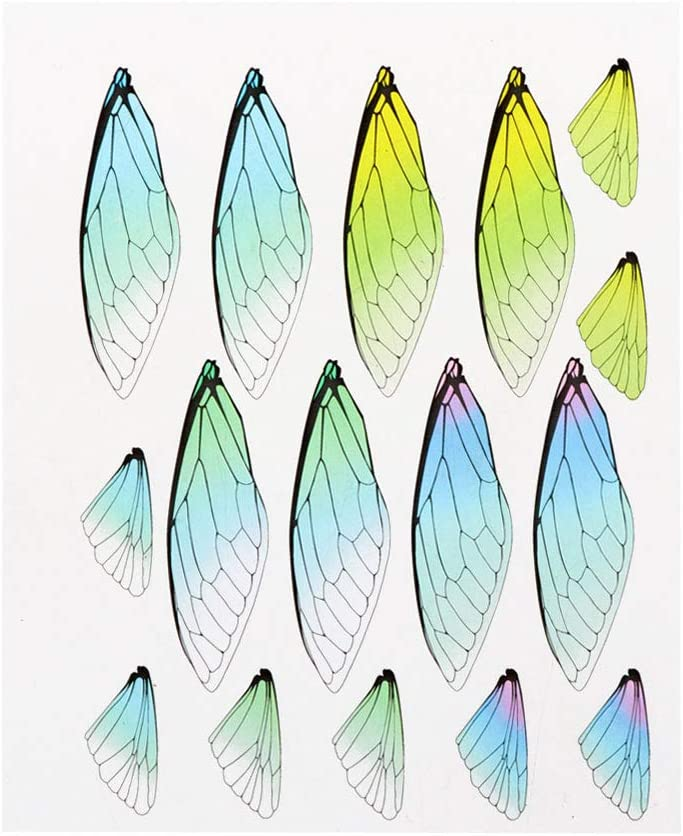 yangerous,Dragonfly Cicada Butterflies Simulated Wing Material Pendant Earring DIY Jewelry,Making Craft Tools Handmade Craft Gifts