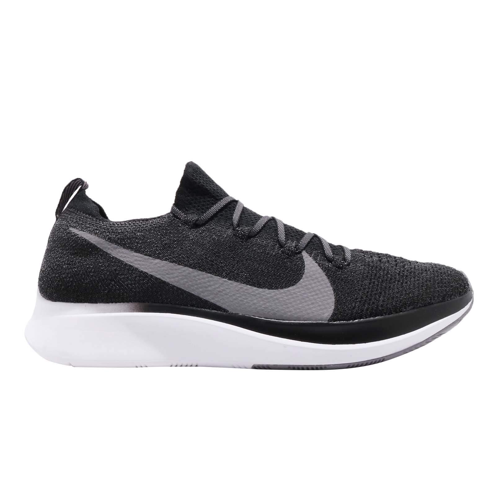 Nike Zoom Fly Flyknit Men's Running Shoe Black/Gunsmoke-White Size 7.5 by Nike (Image #5)