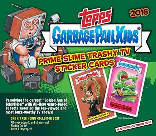 Garbage Pail Kids 2016 Topps GPK Card Stickers Series 2 Trashy TV Retail Box - 160 Cards