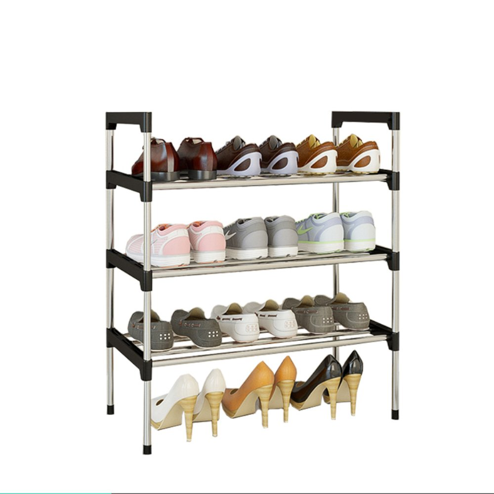 AcornFort® S-501 3 Tiers Adjustable Shoe Storage Shoe Rack Organiser Shelf Hold Stand for 9 Pairs Shoe , 2017 New Upgrade Sturdy Design, Space Saving , Easy Assemble YOYO INFO UK LTD
