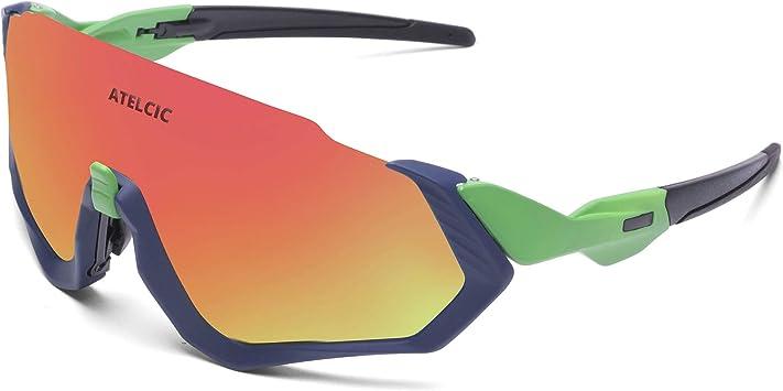 Gafas de Sol para Ciclismo, Protección UV400 y Montura De TR-90 ...