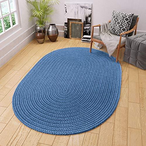 Nuloom Washable Rugs: Amazon.com: Super Area Rugs Maui Braided Rug Indoor