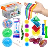 Fidget Toys Set 29Pack, Sensory Relieves Stress & Anxiety Squeeze Toy for Kids Teens and Adults ADHD ADD Autism, Fun Fidgetin