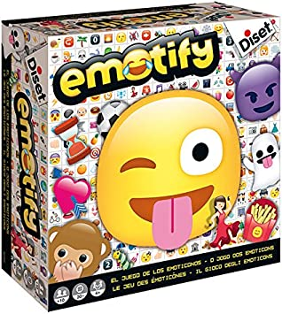 Diset - Emotify, juego de mesa, Miscelanea (62301): Amazon.es ...