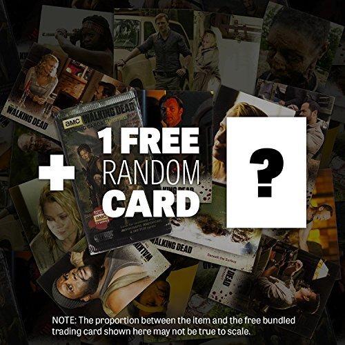 """Glenn: ~2.7"""" Walking Dead x Funko Mystery Minis Vinyl Figure Series #3 + 1 FREE Official Walking Dead Trading Card Bundle (UNCOMMON) [47689]"""