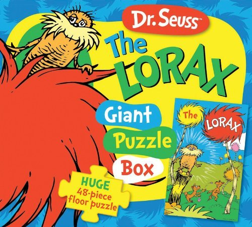 Dr. Seuss The Lorax Speak for the Trees Giant Puzzle Box: Huge 48-piece floor puzzle (Dr. Seuss Giant Puzzle Boxes)