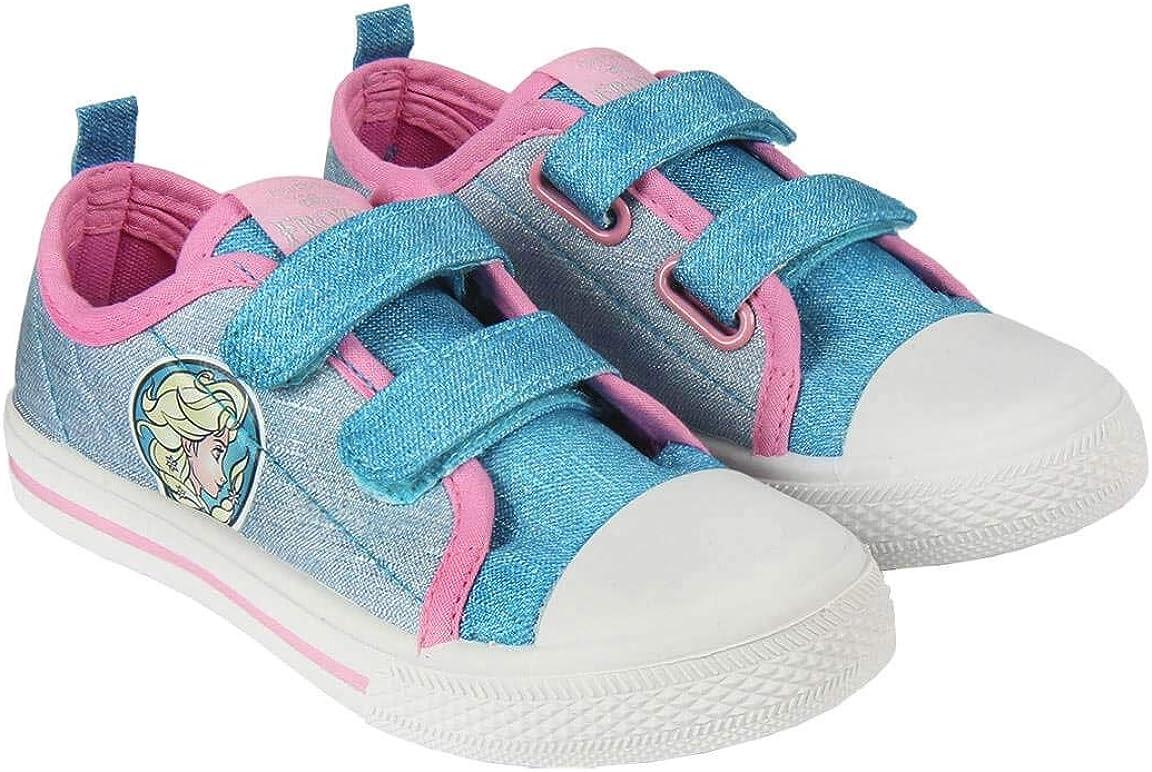 Canvas Sneakers Shoes Girls Frozen Elsa