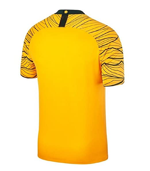 6f8f7e36b Nike 2018-2019 Australia Home Football Soccer T-Shirt  Amazon.co.uk  Sports    Outdoors