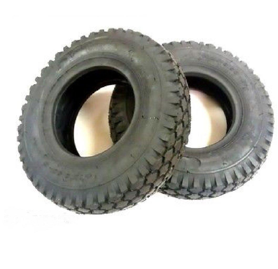 (2) 58-022 Oregon 4.10x3.50x6 Go Kart Stud Tires