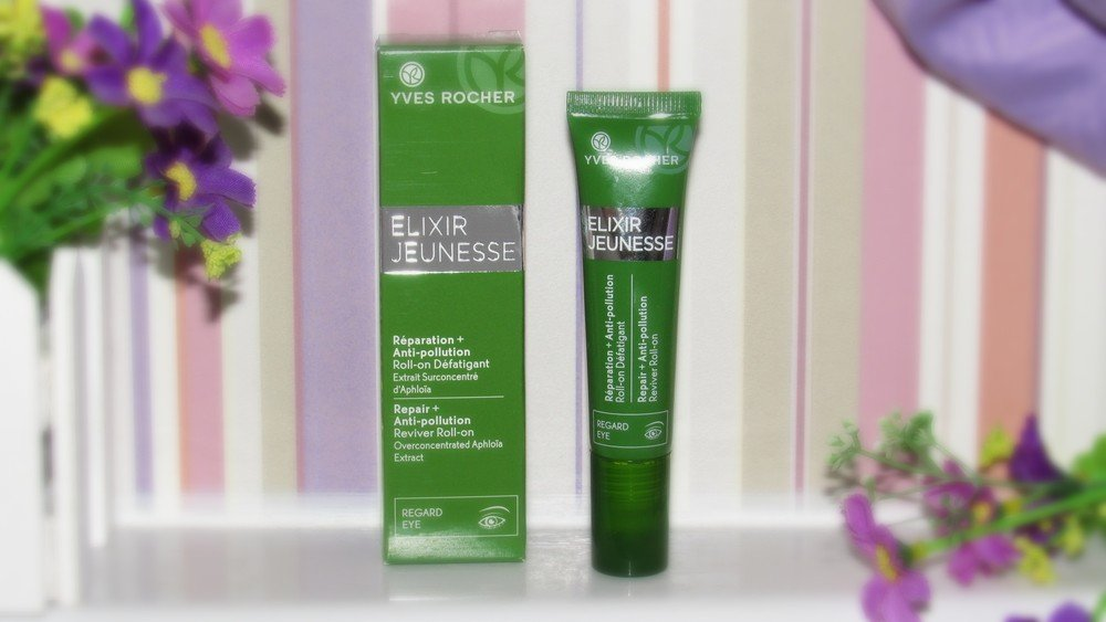 Yves Rocher Elixir Jeunesse Reviving Roll-On for Eyes - Reparation + Anti-pollution 15 ml./0.5 fl.oz by Yves Rocher