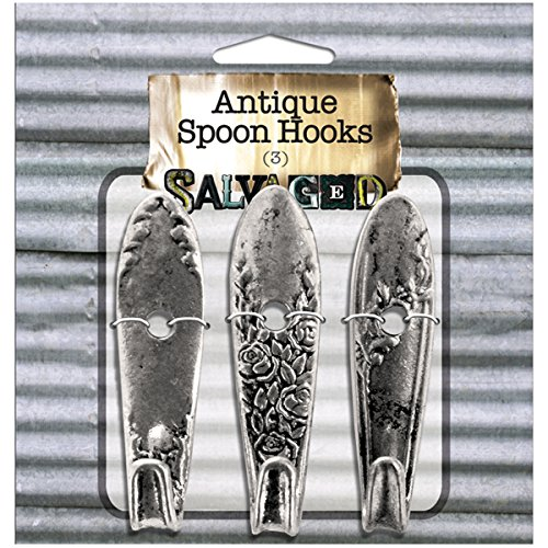 daaf52966f7d Salvaged, by BCI Crafts Antique Spoon Hooks (Set of 3) - Buy Online in Oman.  | Kitchen Products in Oman - See Prices, Reviews and Free Delivery in  Muscat, ...