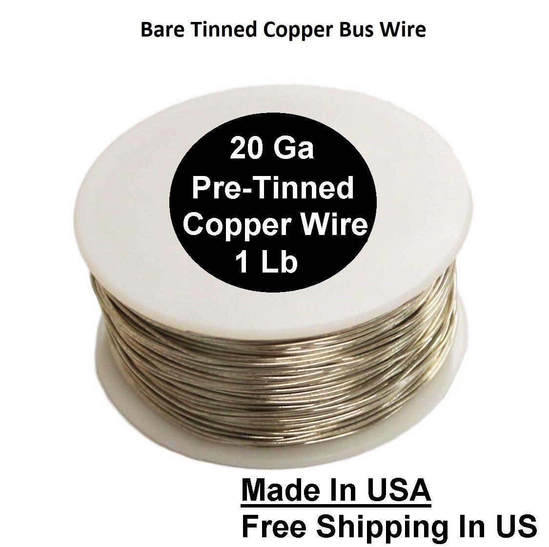 20 Ga Pre Tinned Copper Wire