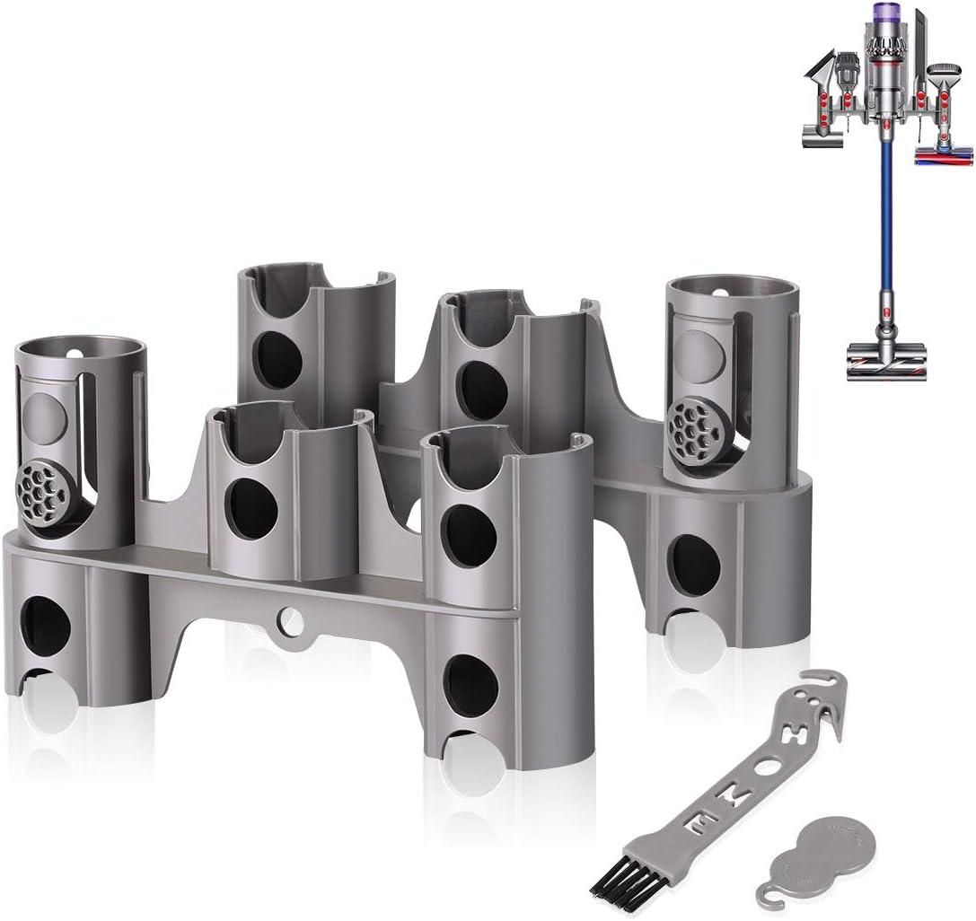 AIEVE - Soporte para soporte de aspiradora Dyson V11 V10 V8 V7, inalámbrico, 2 unidades, sin taladrar: Amazon.es: Hogar