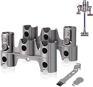 LANMU Docking Station Accessory Holder Attachments Organizer for Dyson V11 V10 V8 V7 Vacuum Cleaner, No More Messy Tools