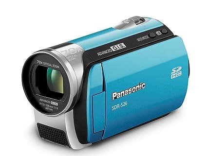 amazon com panasonic sdr s26 sd camcorder blue camera photo rh amazon com Panasonic SDR- H60P PC Microphones Panasonic PV-BP18 P-V611 Battery Pack