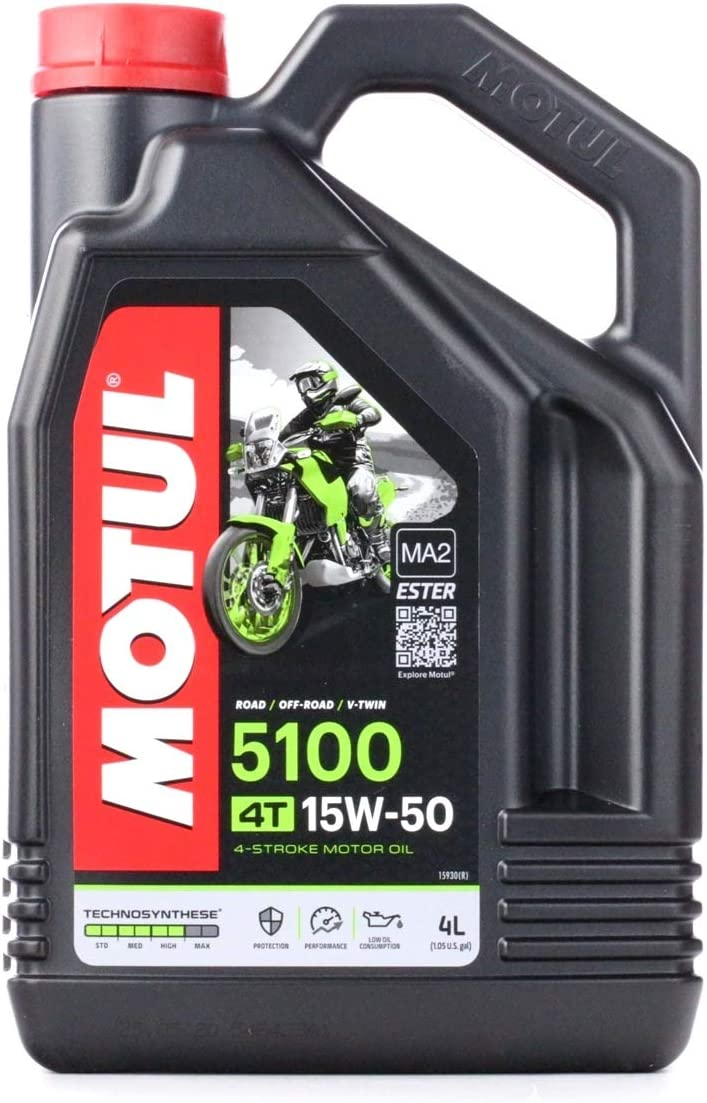 MOTUL 5100 15W50 4T 4L
