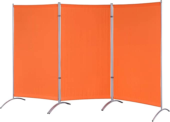 Amazon Com Proman Products Galaxy Indoor Room Divider 3 Panels 102 W X 23 D X 71 H Orange Furniture Decor