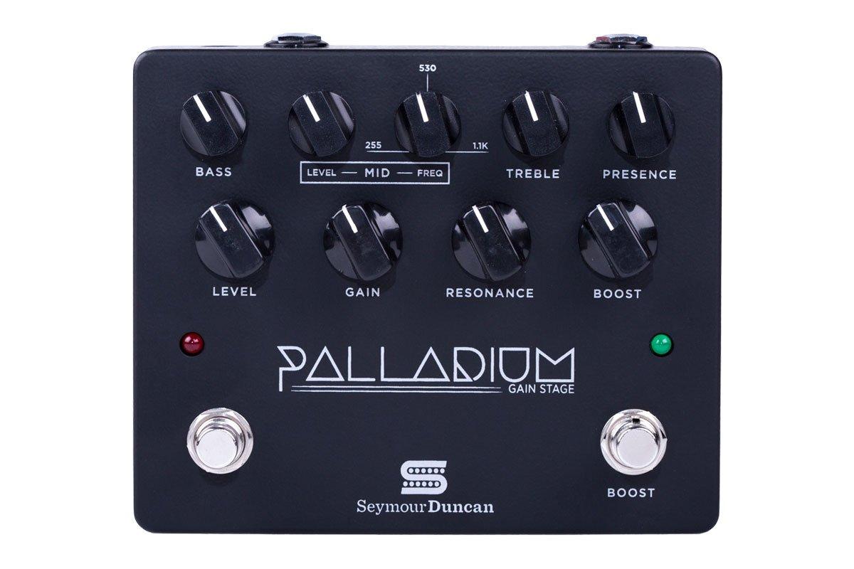 SeymourDuncan セイモアダンカン オーバードライブ Palladium -Gain Stage- Black 【国内正規品】   B01MZ6OKE1