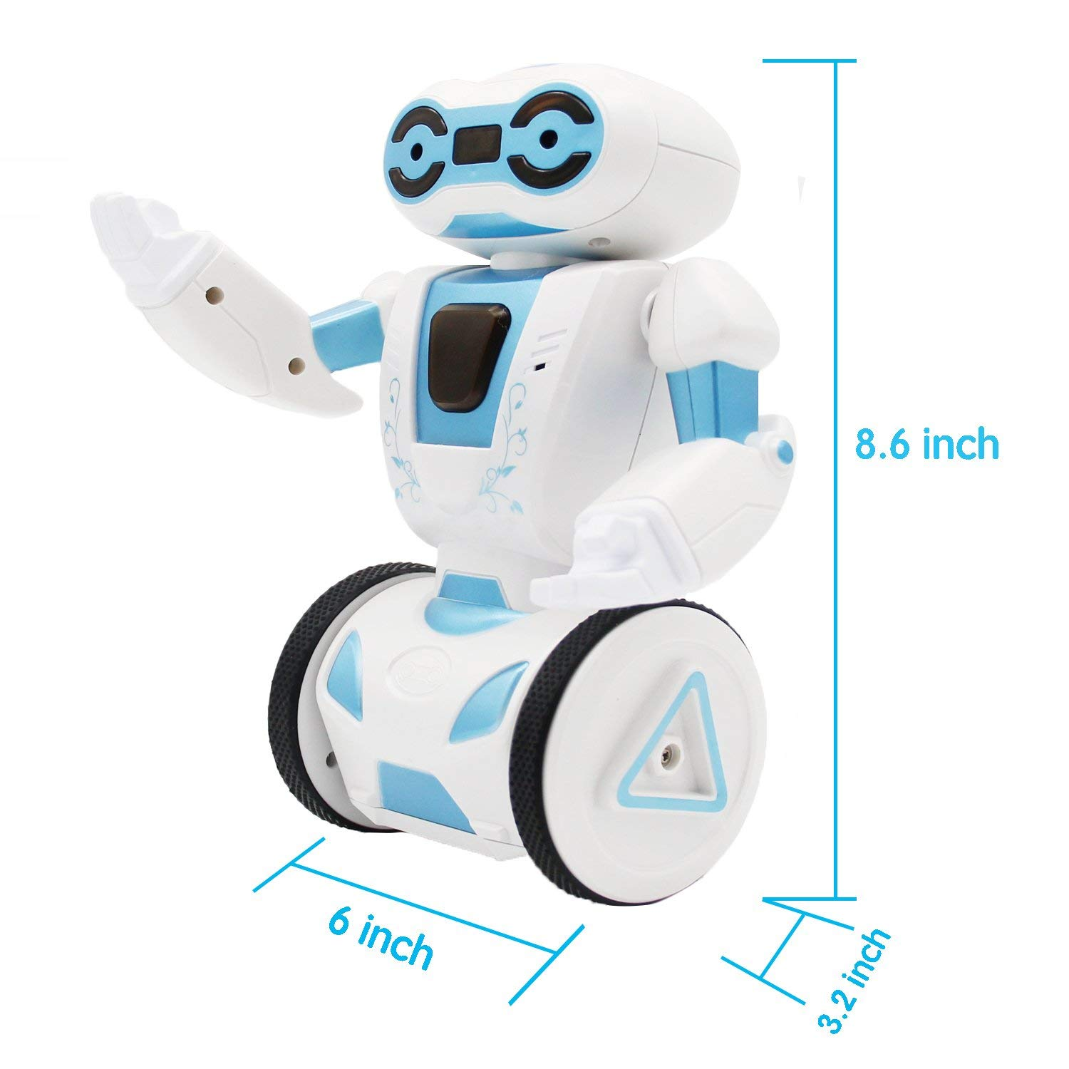 Hi-Tech 2.4GHz Remote Control Robot Smart Toys, 5 Modes Interactive Robot for Kids,Children,Girls, Boys by HI-TECH OPTOELETRONICS CO., LTD. (Image #2)