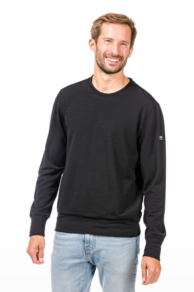 Super.natural Herren M City Crew Merino Sweatshirt