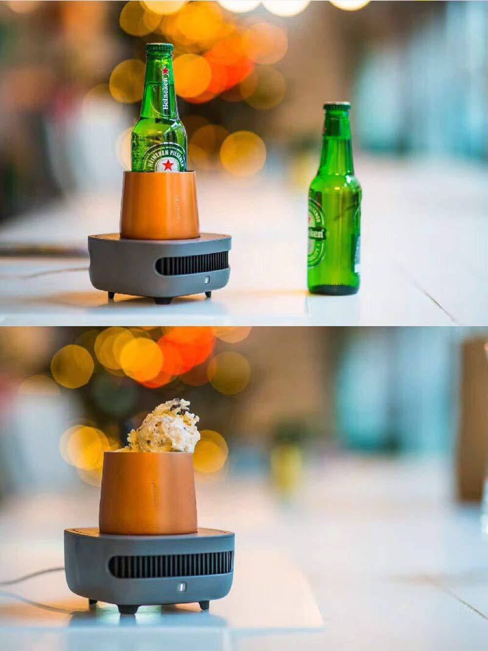 Drinks Nevera Mini Ideal para Latas De Refresco, Nevera Portátil ...
