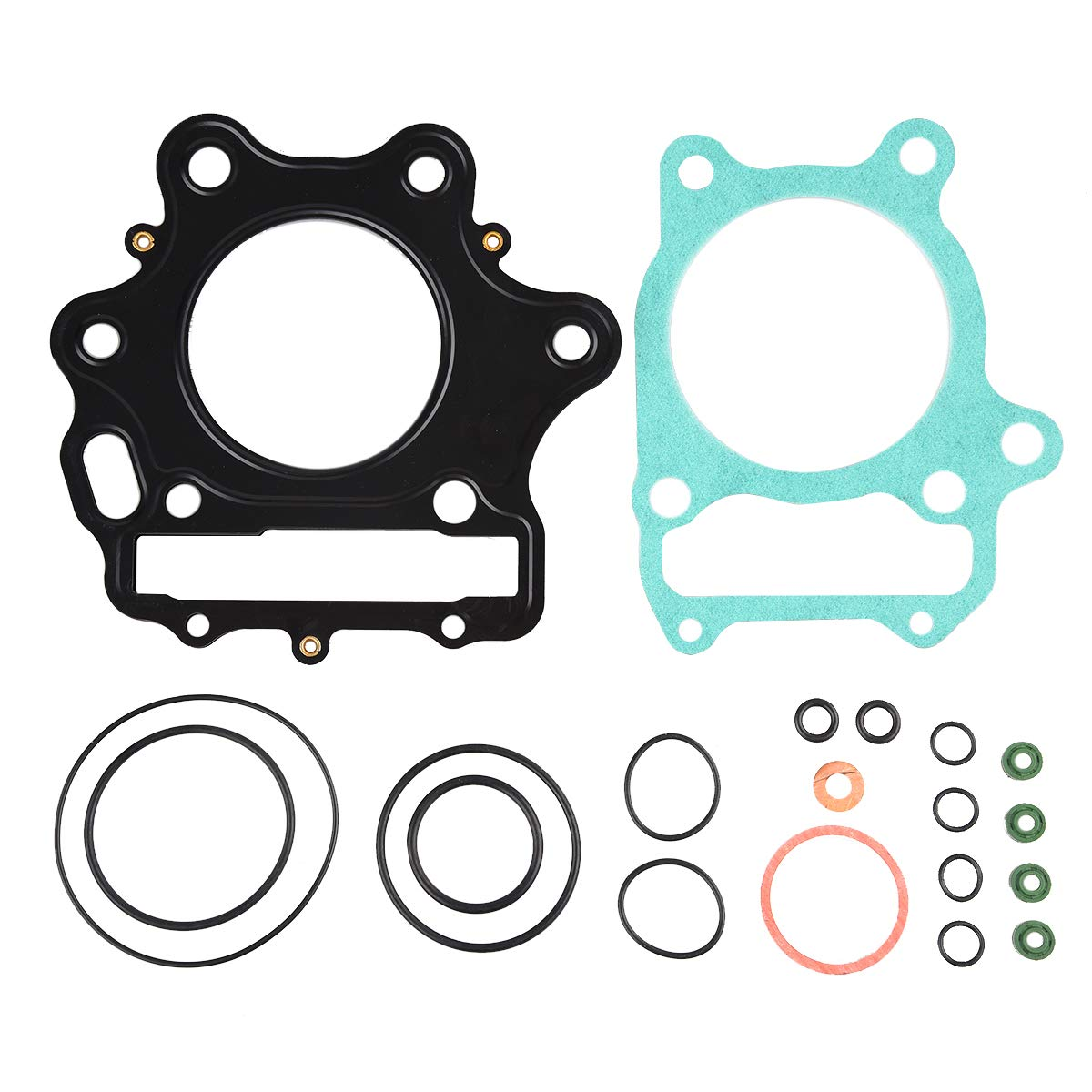 PRO CAKEN Top End Head Gasket Kit for TRX 300EX 300X 1993 2009 TRX250X Fourtrax