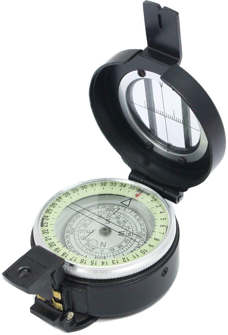 British Army Lensatic Compass Metal