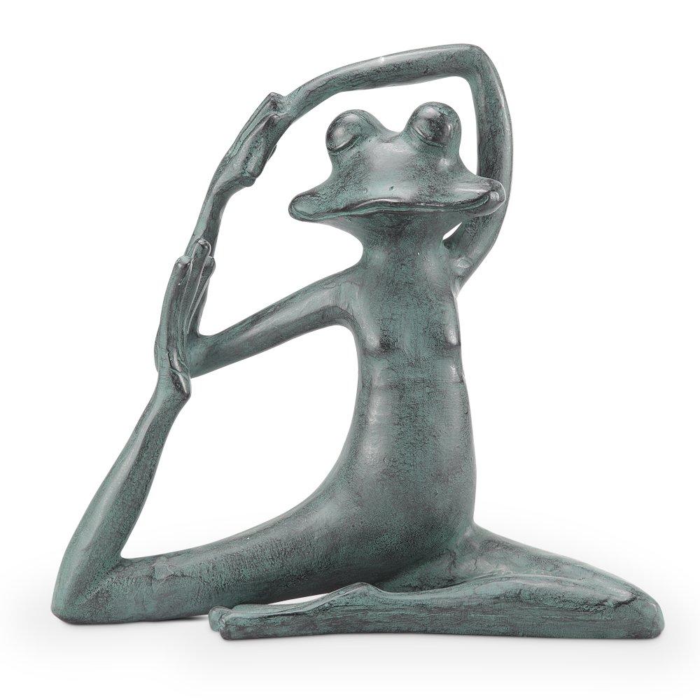 SPI Home Relaxed Yoga Frog Garden Sculp
