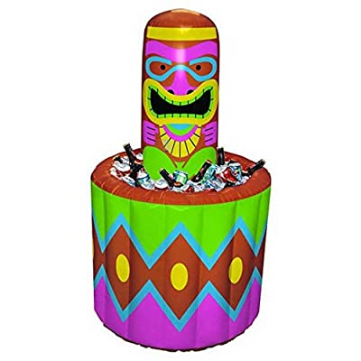 Amscan Tiki Party Inflatable Cooler: Kitchen & Dining