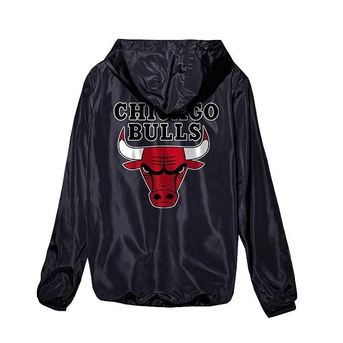 YOHH Chicago Bulls Sudadera Chaqueta De Entrenamiento: Amazon.es: Ropa y accesorios