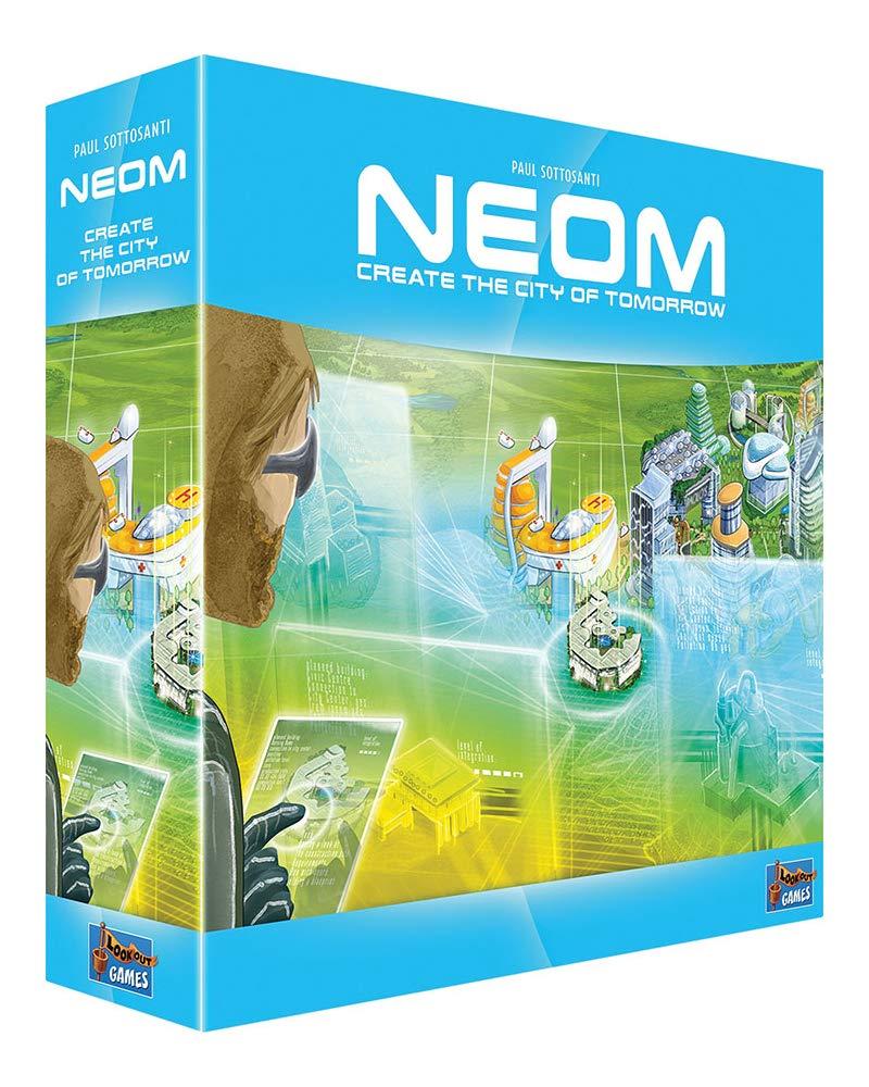 Lookout! Neom - Juego de Mesa [Inglés]: Amazon.es: Juguetes y juegos
