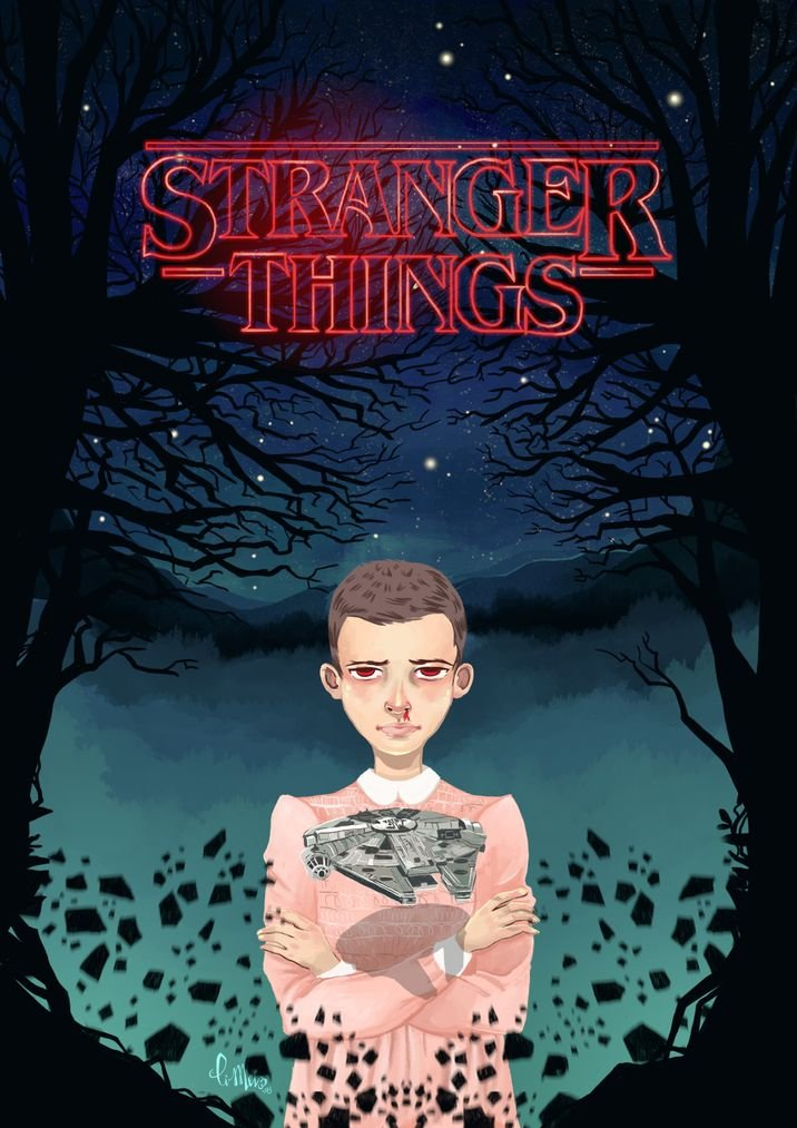 Stranger Things US Drama (14x20 inch, 35x49 cm) Silk Poster ...