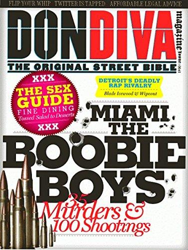Read Online DON DIVA Magazine Issue 41 MIAMI BOOBIE BOYS, Detroit's Chedda Boyz, Sex Guide pdf