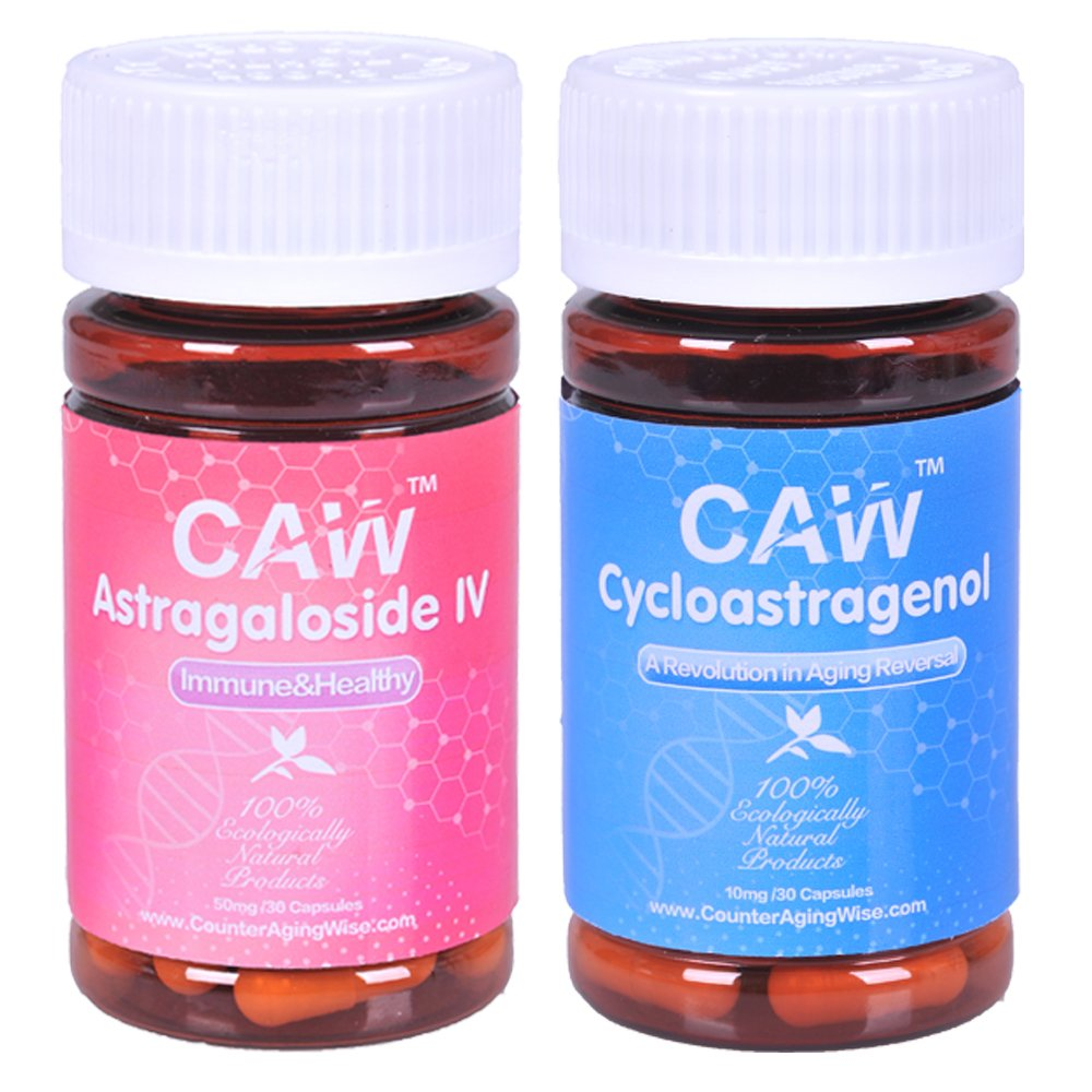 Anti-aging Supplement CAW Hypersorption Cycloastragenol and Astragaloside IV 98%