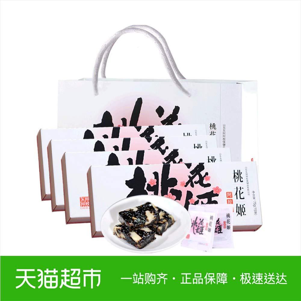 东阿阿胶桃花姬阿胶糕300g官方旗舰店同款女士型即食固元膏ejiao