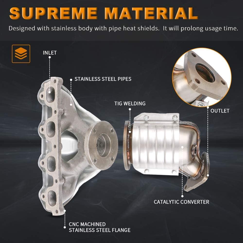 Evan Fischer REPH960305 Silver Catalytic Converter