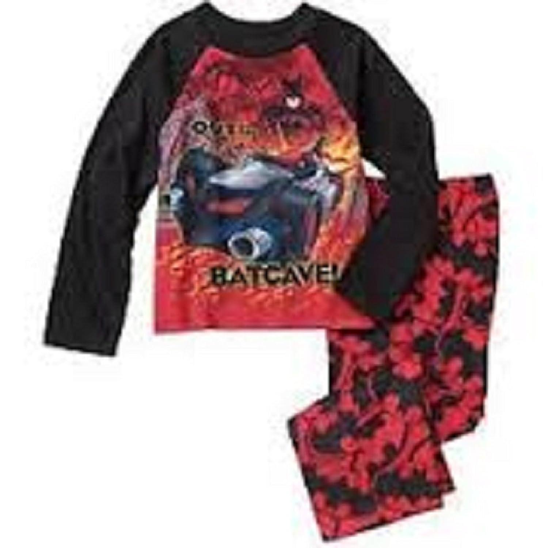 Boys/' DC Comics Batman 3 Piece Robe Set Size 4 5 6 7