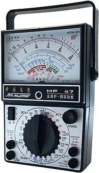 Xunqi Ac Dc Elektrischer Multimeter Tester Voltmeter Amperemeter Ohmmeter Analog Multimeter Tester Baumarkt