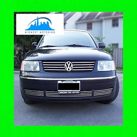 312 Motoring fits 1998-2005 VOLKWAGEN VW PASSAT LOWER CHROME GRILL GRILLE KIT 2000 2001 2002 2003 2004 99 00 01 02 03 04 05 B5 GLS GLX WAGON GL 4MOTION 1.8 ...