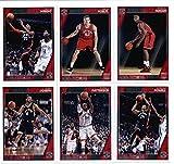 2016-17 Panini NBA Hoops Toronto Raptors Team Set of 11 Cards: Jared Sullinger(#28), Kyle Lowry(#110), DeMar DeRozan(#111), Jonas Valanciunas(#112), DeMarre Carroll(#113), Cory Joseph(#115), Patrick Patterson(#227), Norman Powell(#228), Delon Wright(#229), Jakob Poeltl(#269), Pascal Siakam(#283)