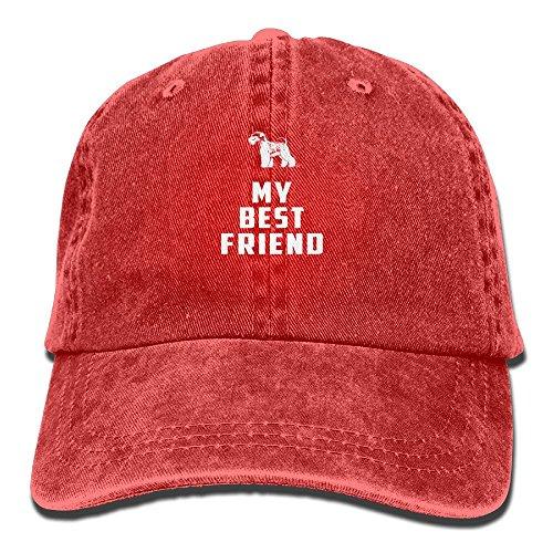 Miniature Schnauzer My Best Friend Denim Hat Male Plain Baseball (Tumblr Best Friend Costumes)