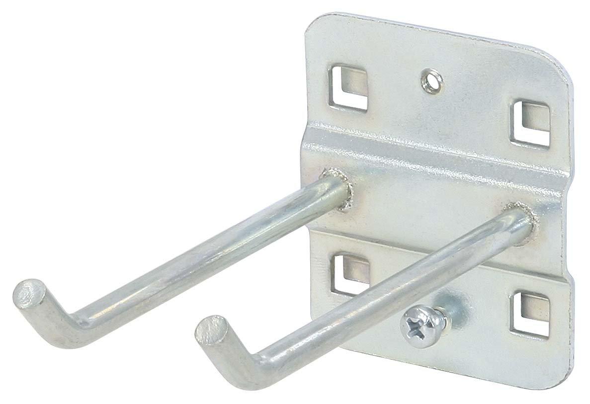 KS Tools 860.0814 Doppelter Werkzeughalter mit schrägem Hakenende, Ø 6 mm, 75mm KS-Tools Werkzeuge-Maschine 4042146194348