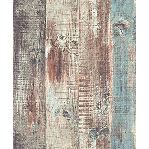 Faux Wood Wallpaper Amazon Com