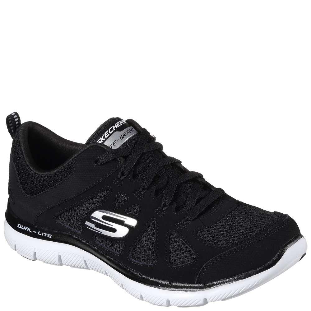Skechers Sport Women's Flex Appeal 2.0 Simplistic Fashion Sneaker B0719HG7Y1 10 C/D US|Black White