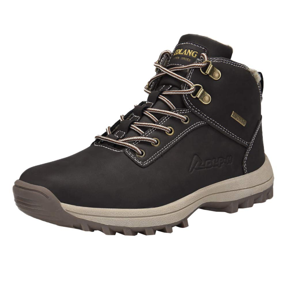 Fullfun Trekking Shoes Men's Hiking Shoes Anti-Skid Mountain Climbing Boots Outdoor Athletic Breathable Men Waterproof
