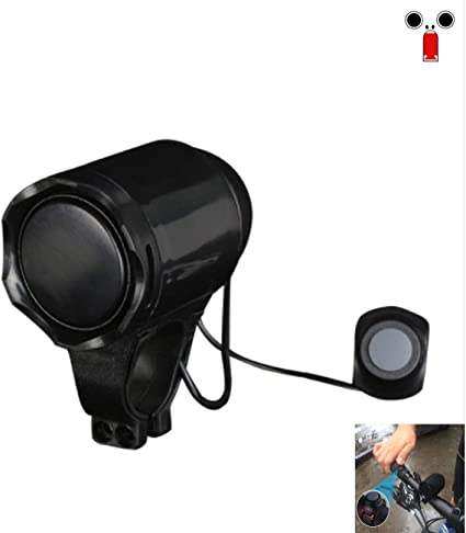 Electronic Electric Bicycle Loud Horn Siren Bell Alarm Speaker Charging USB