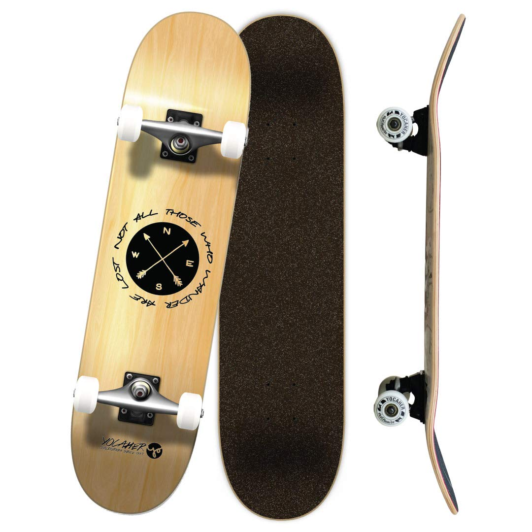 Yocaher Geometric, and Wander Series of Standard Skateboards and Cruisers