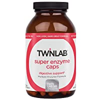 Twinlab Super Enzyme Gut Health Supplement - Digestive Enzyme Supplements for Gut...