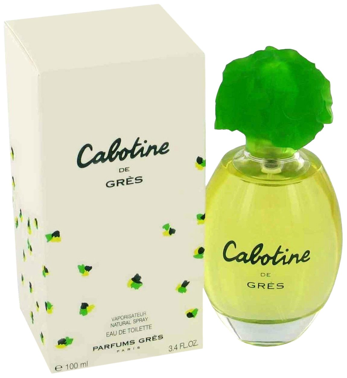 Cabotine By Parfums Gres For Women. Eau De Toilette Spray 3.4 Ounces